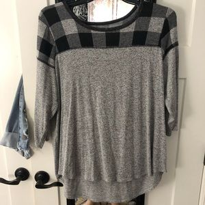 3/4 sleeve flowy knit top from Maurice's size 1